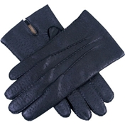 Dents Men's Leather Handsewn Gloves - Black
