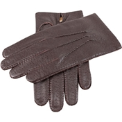 Dents Men's Leather Handsewn Gloves - Brown