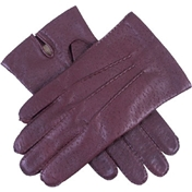 Dents Men's Leather Handsewn Gloves - English Tan