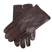 Dents Men's Plain Leather Gloves - Brown