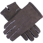 Dents Men's Handsewn Lambskin Gloves - Mahogany
