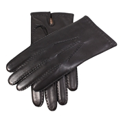Dents Men's Cashmere Lined Leather Gloves - Black