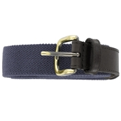 Plain Webbing Belt - Dark Navy
