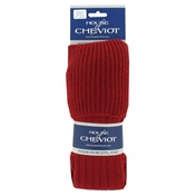House Of Cheviot Scarba Sock - Brick Red