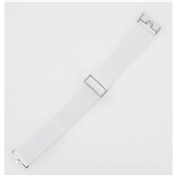 Gentleman's Sock Garters - White