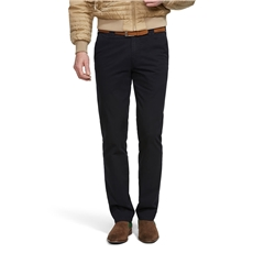 Meyer Trouser Soft Cotton Chino - Navy - Oslo 316 18