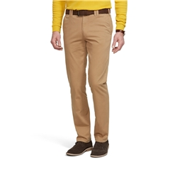 Meyer Trouser Soft Cotton Chino - Sand - Oslo 316 42