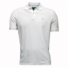 New 2017 Fynch-Hatton Polo Shirt - White
