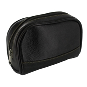 Leather Mini Wash Bag