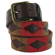 Pampeano Polo Belt - Fuego