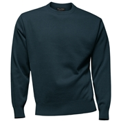 Franco Ponti Crew Neck Sweater - Airforce Blue