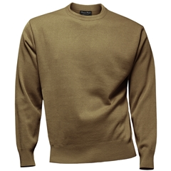 Franco Ponti Crew Neck Sweater - Camel