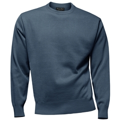 Franco Ponti Crew Neck Sweater - Denim