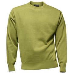 Franco Ponti Crew Neck Sweater - Honey