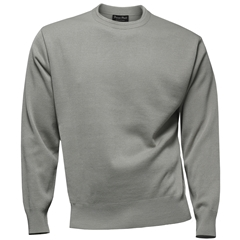 Franco Ponti Crew Neck Sweater - Silver
