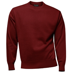 Franco Ponti Crew Neck Sweater - Terracotta