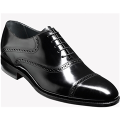 Barker Shoes Style: Wilton - Black Polish