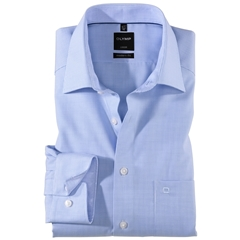 Olymp Modern Fit Shirt - Bleu Check
