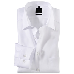 Olymp Modern Fit Shirt - White Naté