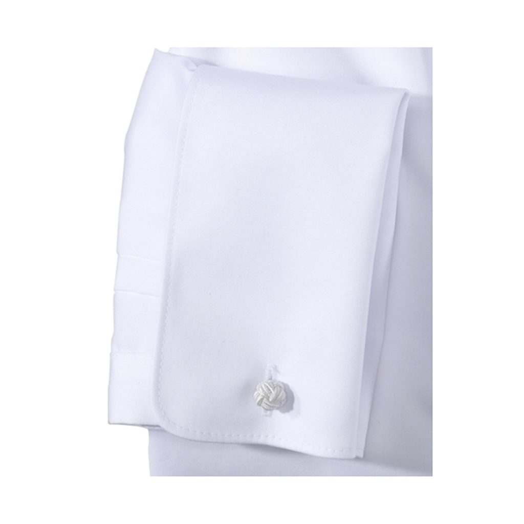 Olymp Level Five White Evening Dress Shirt - Body Fit