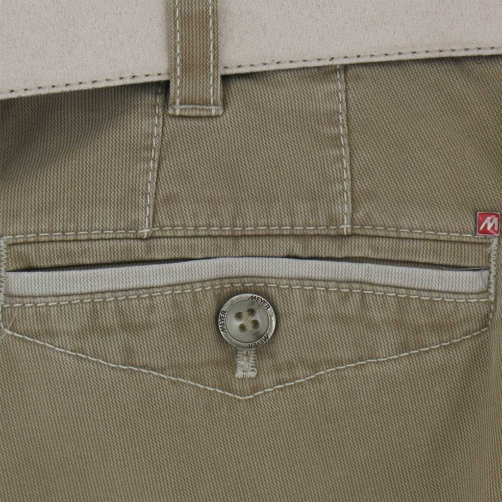 Meyer Summer Cotton Trouser - Camel - Online Exclusive
