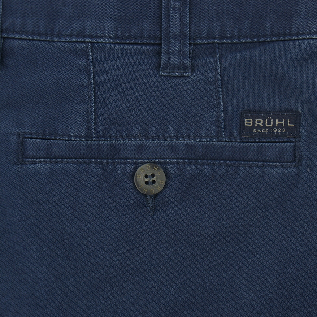 Bruhl Shorts - Pima Cotton Navy