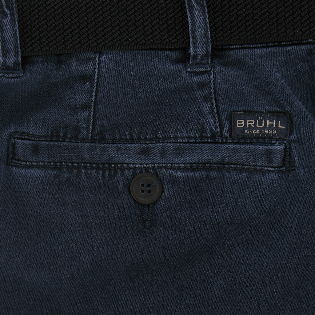 Bruhl Trousers Light Weight Denim Blue - Style Montana 190280 - 680