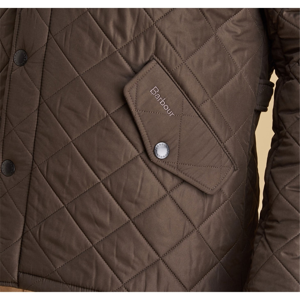 Autumn 2017 Barbour Powell Quilted Jacket - Olive