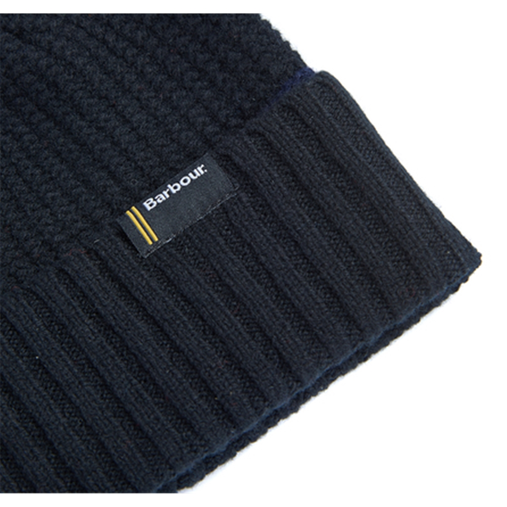 Barbour International Armstrong Beanie - Black/Navy