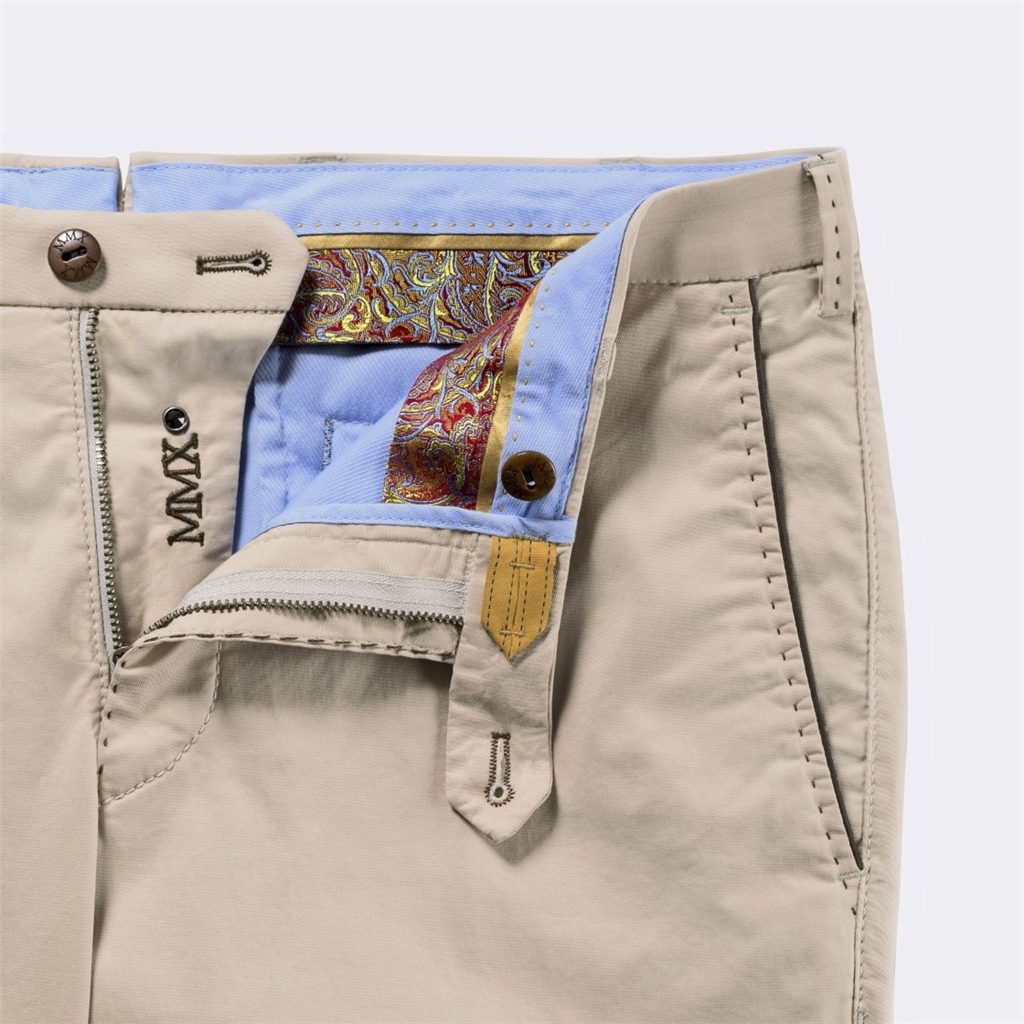 New 2016 Meyer MMX Trousers - Ultralight Classic Chino - Beige