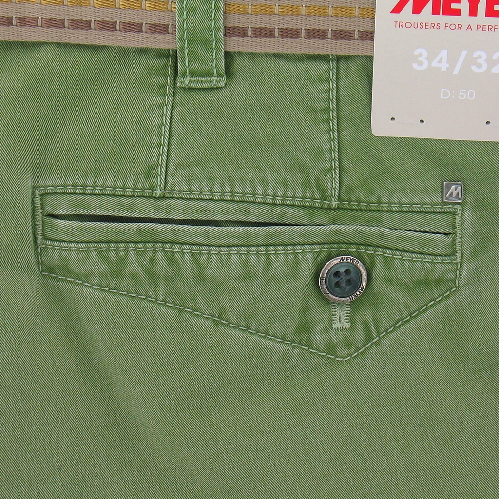 Meyer Cargo Shorts - Green - Size 34'' Only