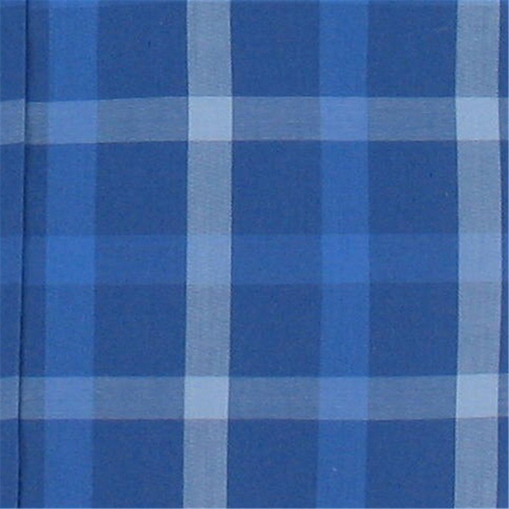 New for 2016 Fynch-Hatton Supersoft Cotton Shirt - Blue Check - Sizes M, L & 2XL