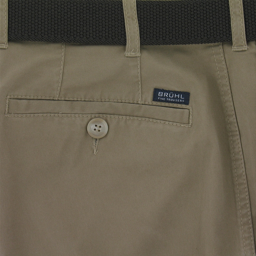 Bruhl Light Cotton Trouser Montana 180009 220 - Fawn