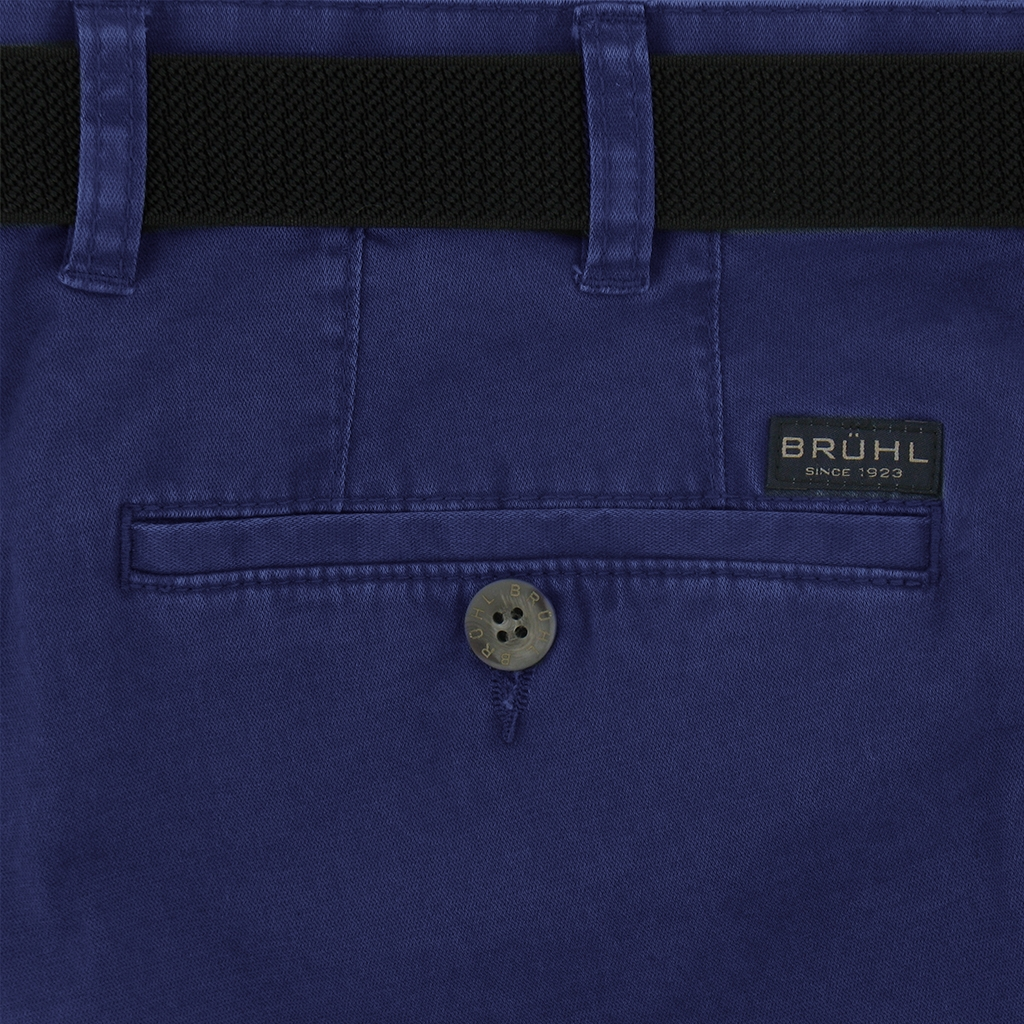 Bruhl Trousers Spring Weight Cotton - Montana - Royal
