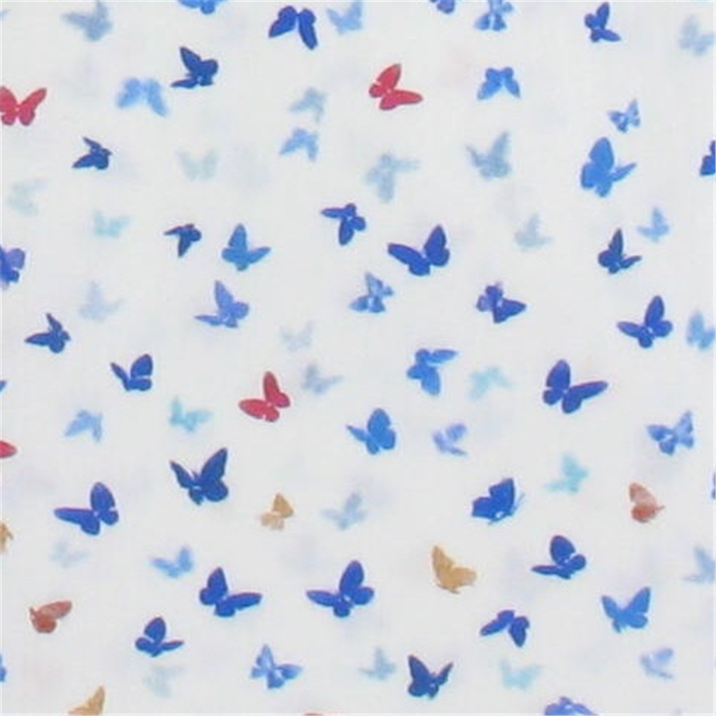 Giordano Shirt Mini Abstract Butterflies - Size 3XL Only