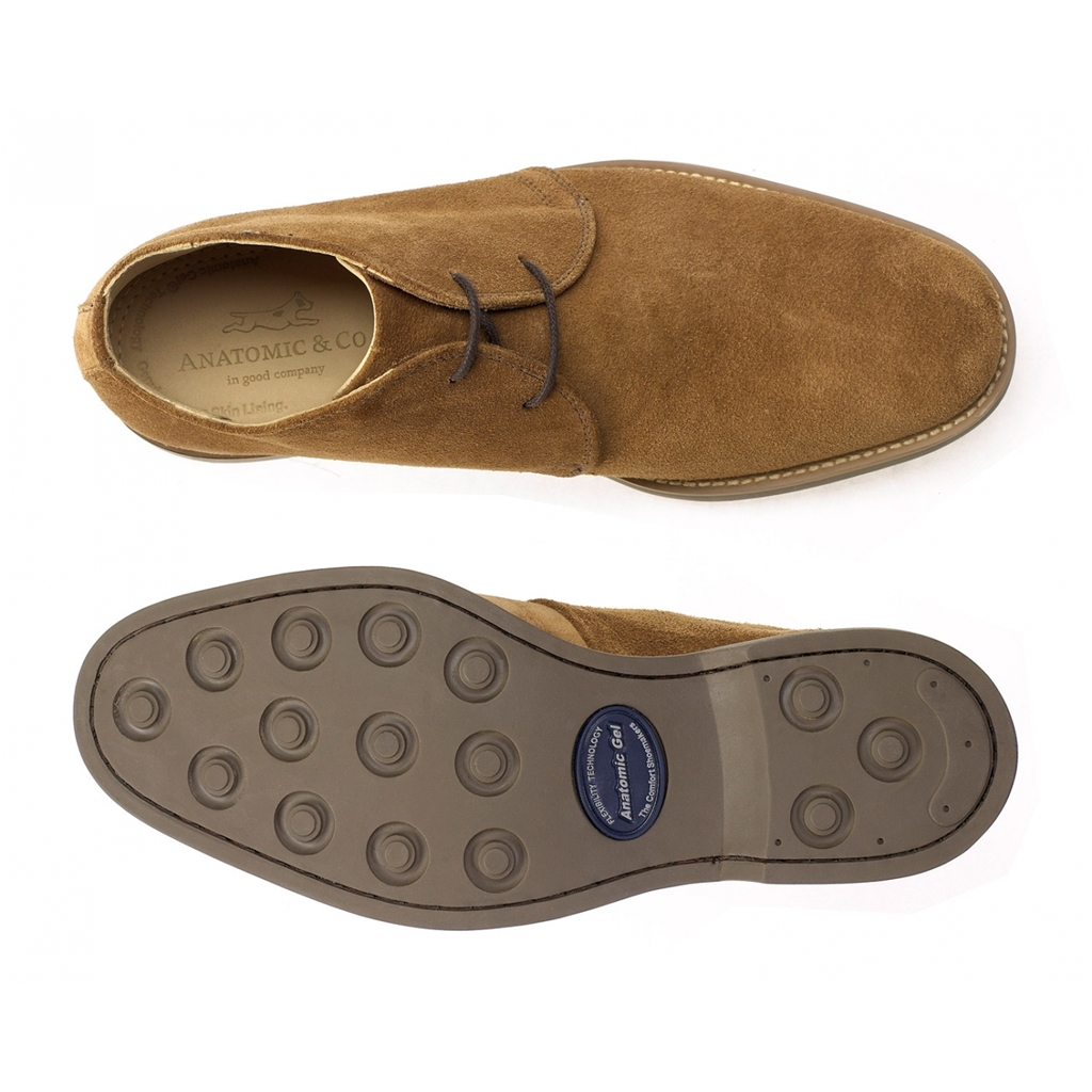 Anatomic & Co Colorado Desert Boots - Tobacco Suede