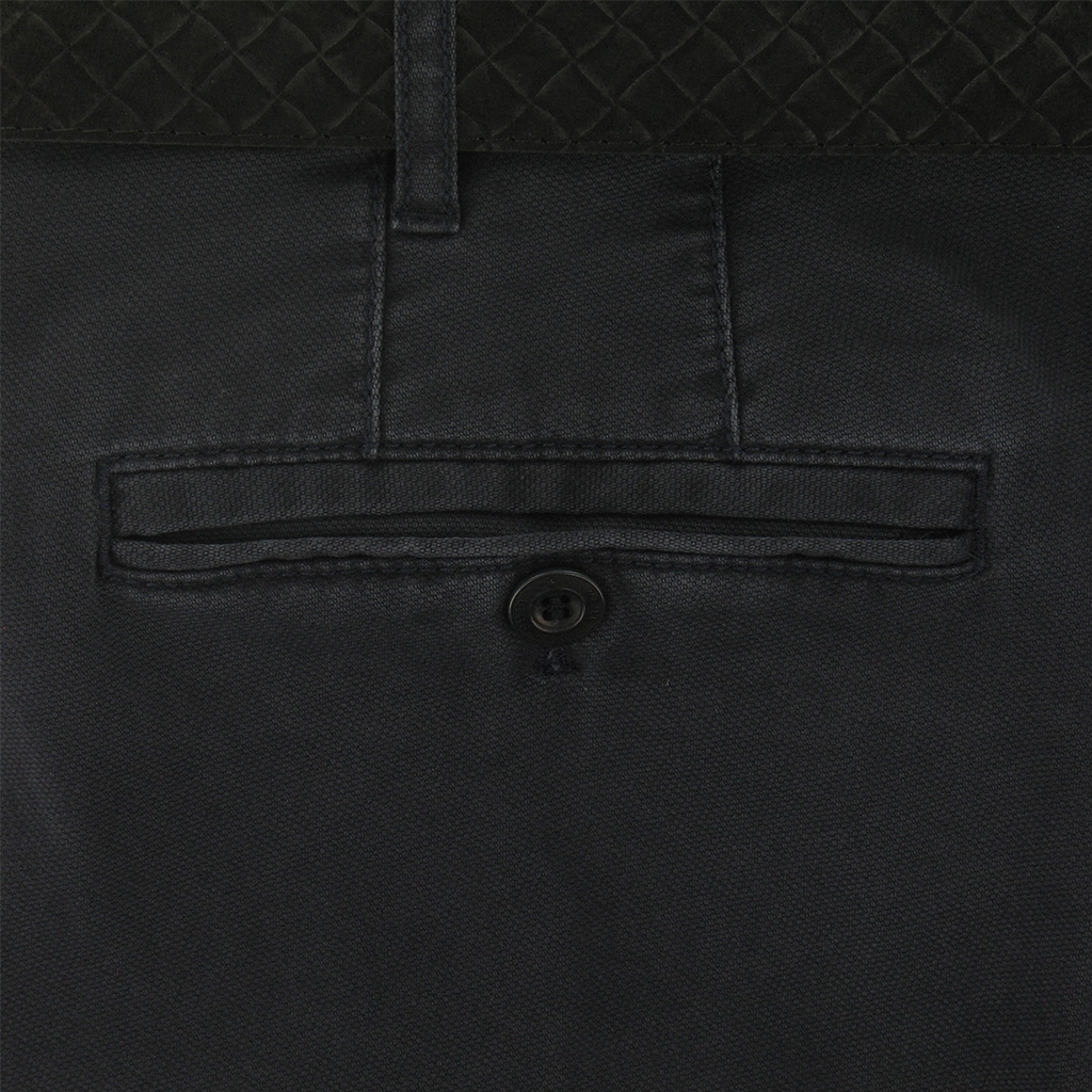 Meyer Trousers Navy Luxury Cotton Trousers - Online Exclusive - Special Purchase