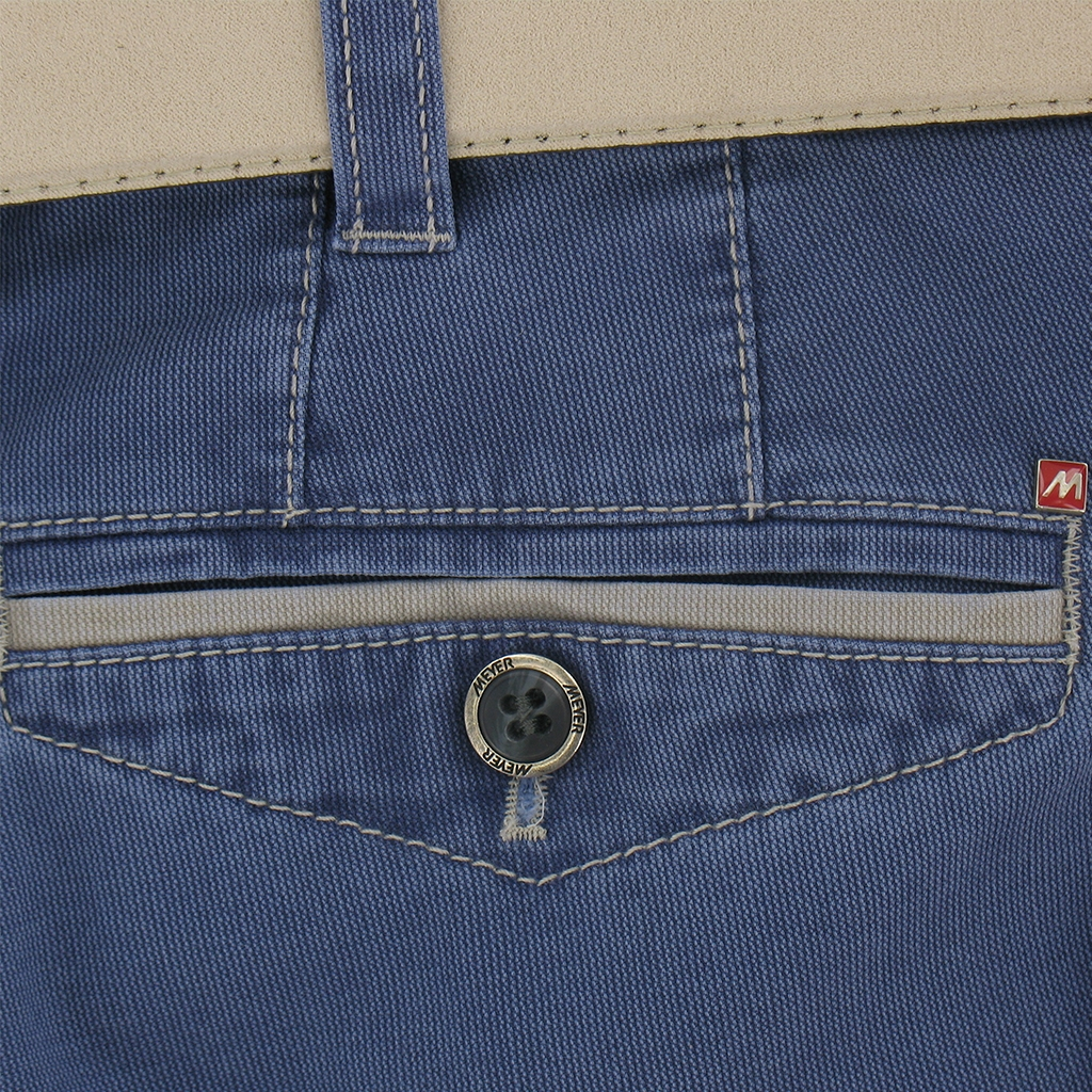 Meyer Cotton Shorts - Blue - Special Purchase - Online Exclusive