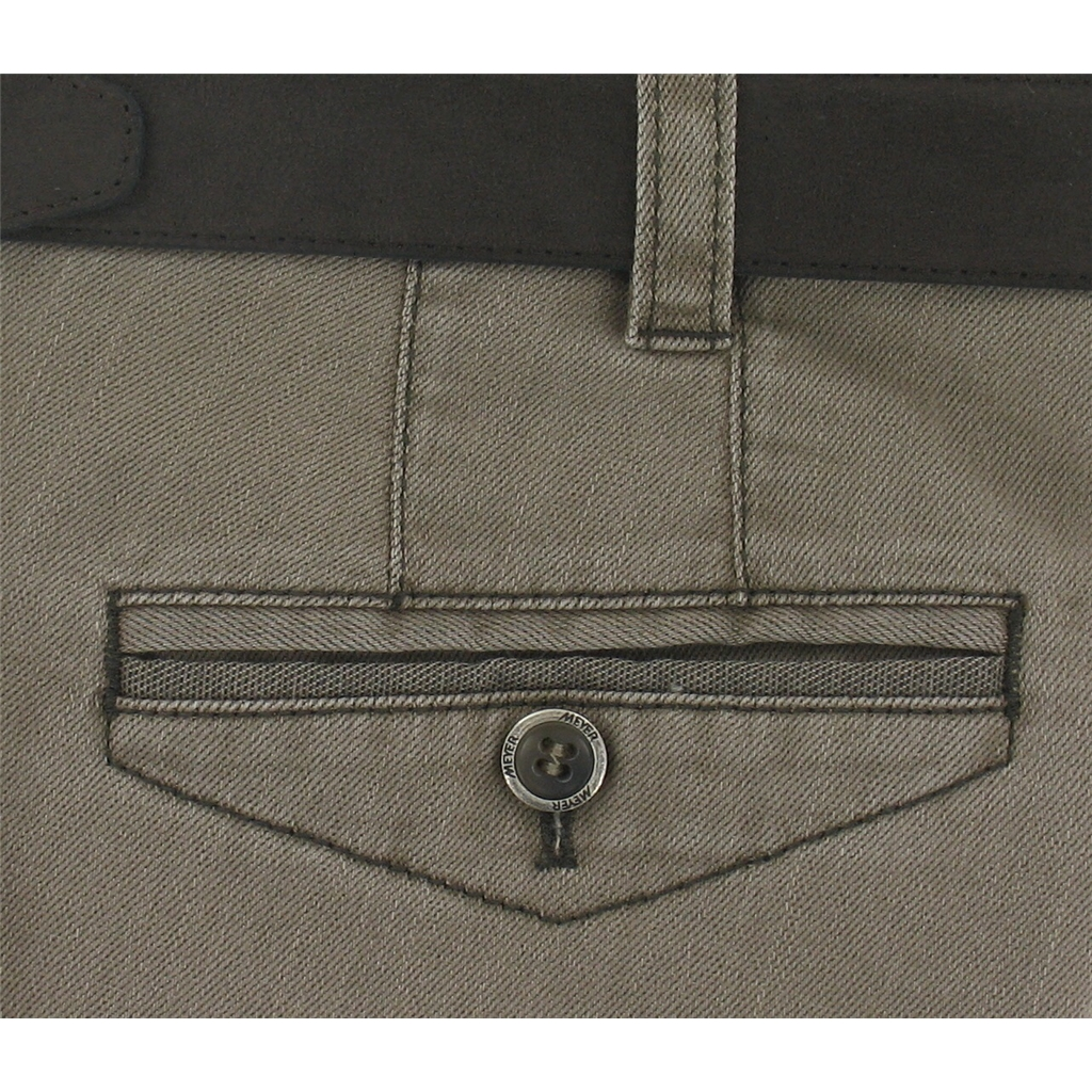 Autumn 2016 Meyer Trousers Beige Luxury Denim - Online Exclusive