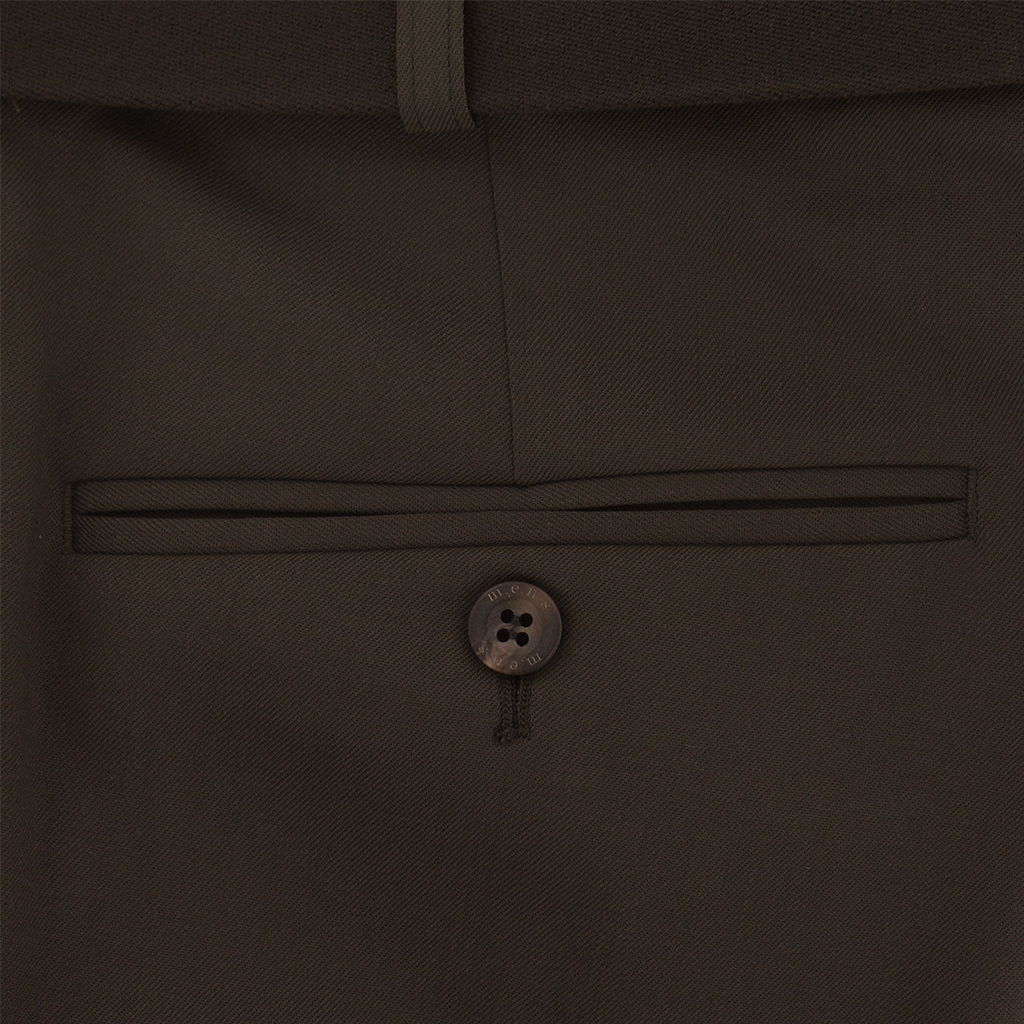 M.E.N.S. Dress wool stretch trouser - Chocolate