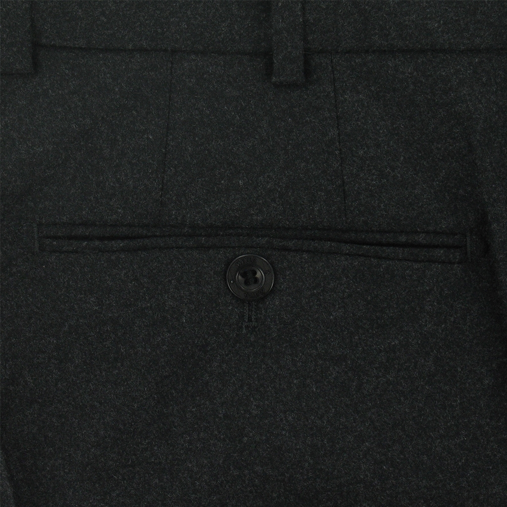 New Meyer Trouser Premium Exclusive Italian Wool & Cashmere - Charcoal
