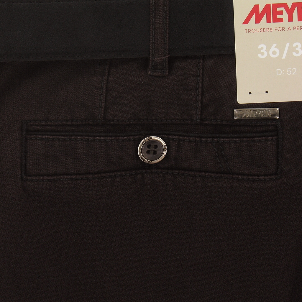 Meyer Trousers Luxury Winter Cotton - Deep Purple - Style New York