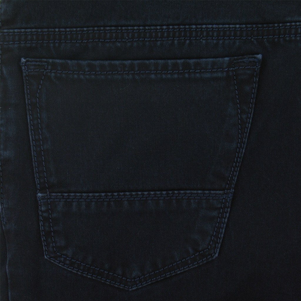 New 2016 Meyer Stretch Luxury Satin Denim Jean - Navy