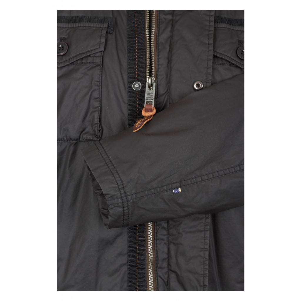 Camel active jacket with carbon coating - Black - Size 3XL Only