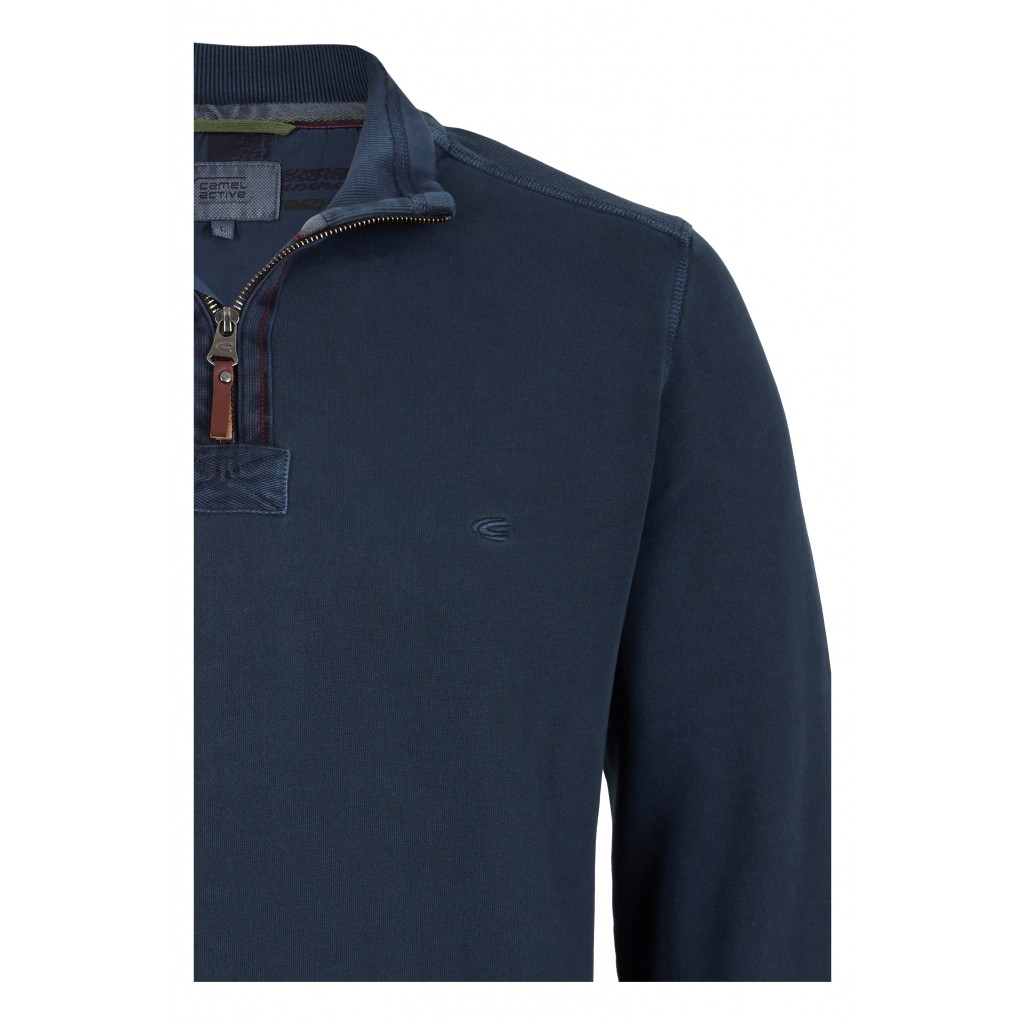 Camel Active Turtleneck - Dark Blue - Size L