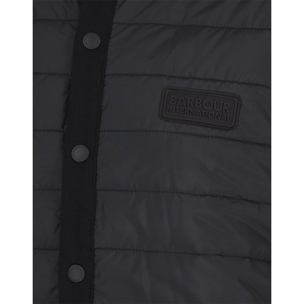 Barbour International Baffle Gilet - Black - Size M & L Only