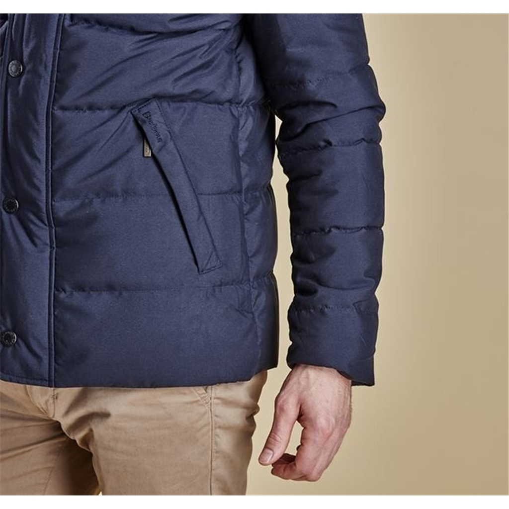 New Autumn 2016 Barbour Lifestyle Lybster Quilt Jacket Navy