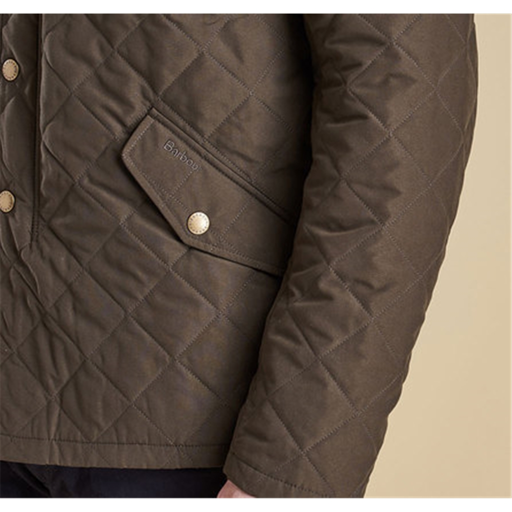 New Autumn 2016 Barbour Countrywear Quilted Jacket - Dark Olive