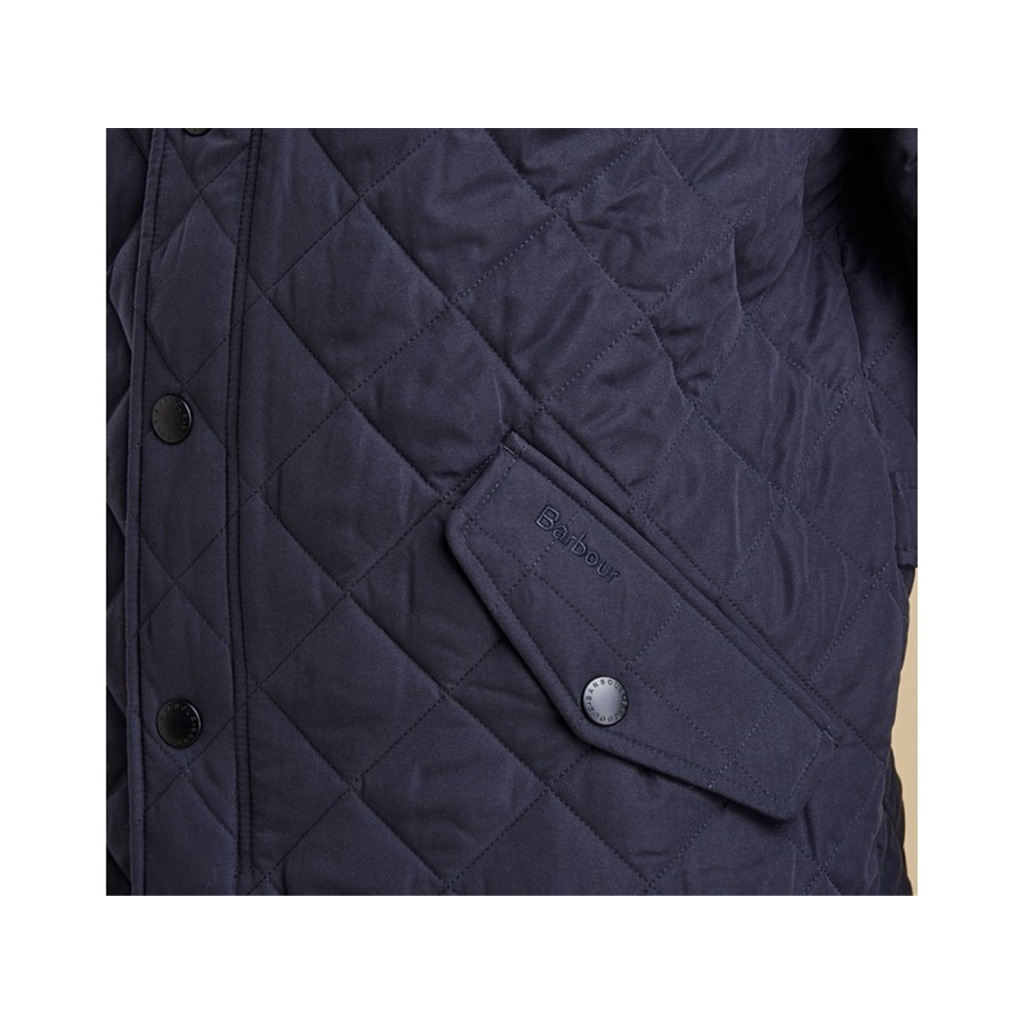 New Autumn 2016 Barbour Countrywear Quilted Jacket - Navy