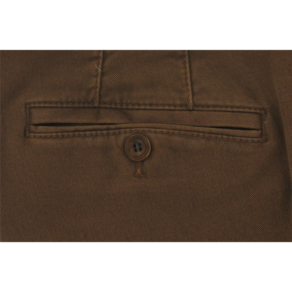 Meyer Tan Luxury Cotton Trousers - Special Selection Range - Online Exclusive